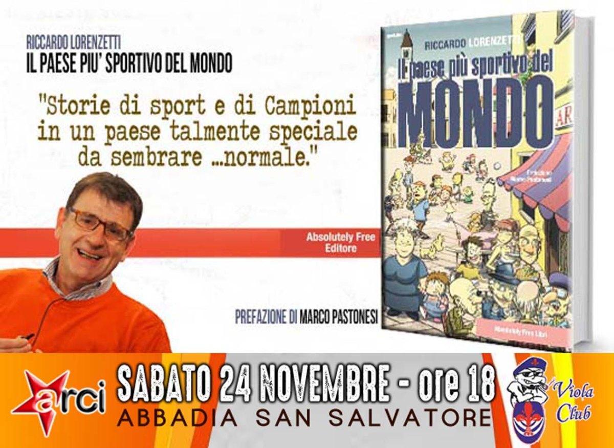 SABATO 24 NOVEMBRE AD ABBADIA SAN SALVATORE Circolo Arci Viola Club - Via Gorizia, 46